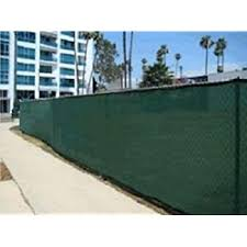 6 X 50 Green Mesh Privacy Screen Fence Tarp Construction Finished Size Approx 5 6 X 49 6 Amazon Com