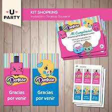 Kit Imprimible Shopkins Completo Con Candy Bar 300 00 En