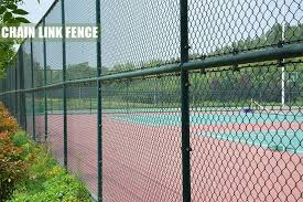Diamond Security Mesh For Football Field Chain Link Fences Wire Fencing China Chain Link Fence Chain Link Wire Mesh Made In China Com