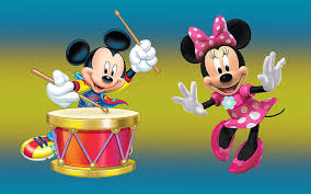 hd wallpaper mickey mouse and minnie