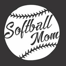 Softball Mom Sport Game 597 Die Cut Vinyl Window Decal Sticker For Car Truck Ebay
