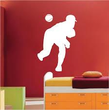 Baseball Pitcher Wall Art Sticker Trendy Wall Designs Baseball Wall Art Sticker Wall Art Sports Wall Decals