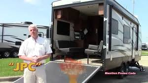 travel trailer toy hauler rv