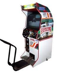 sega rally 2 chionship videogame