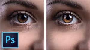eyes with photo