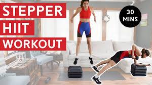 stepper workout 30 mins total body