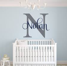 Amazon Com Custom Name Monogram Wall Decal Nursery Wall Decals Name Wall Decor Baby