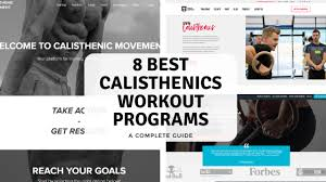 8 best calisthenics workout programs