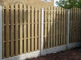 hit and miss wind proof fence panels