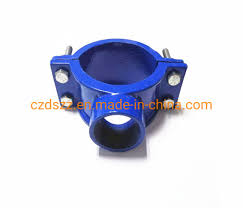 China Gjs450 10 En12842 Saddle Clamp Ductile Iron Pipe Fitting China Pipe Fitting Iron Casting