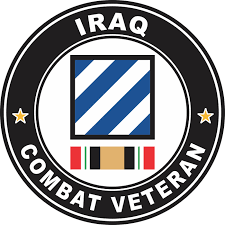 3rd Infantry Division Iraq Combat Veteran Decal