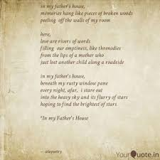 in my father s house mem quotes writings by solomon