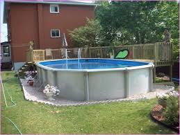 above ground pool patio backyard ideas