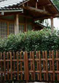 Fence Of Traditional Japanese House By Lyuba Burakova House Japanese Stocksy United