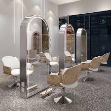 new led lighting salon mirror station