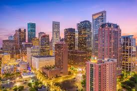 Houston Texas Usa City Skyline Wallpaper Wall Mural