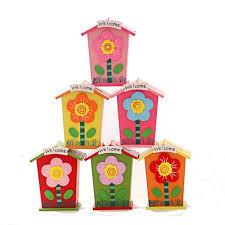 1pc wooden money saving little house