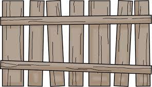Fence Cartoon Clipart Fence Garden Furniture Transparent Clip Art