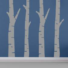 Birch Tree Wall Decal Mural Wall Decal World