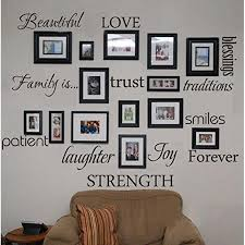 family tree words wall sticker words wall decal joy smile blessing