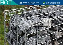 welded gabion box stone cages gabion