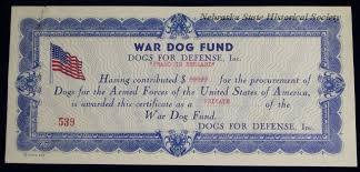 """Image result for """"War Dog Program,"""" word"""