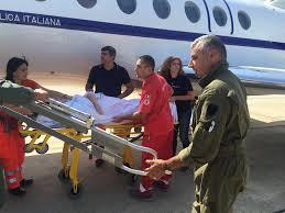 Paziente in pericolo di vita: a Milano con volo dell'Aeronautica ...