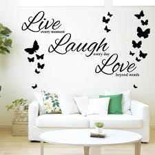 Wd101052 Live Every Moment Laugh Every Day Love Beyond Etsy