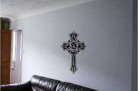 Tribal Cross Wall Sticker Wall Art Decor Vinyl Decal Mural Tribal Art Crosses