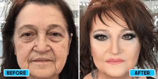 before after effects of makeup