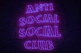 artneverlieschico neon purple quotes antisocial aesthetic