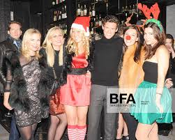 Allison Hodge, Krista Schulz, Louise Tabbiner, Christopher Wolf, Adele Carr,  Jessica Lubell at Annual Naughty or