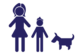 Family Car Decal Mom And 1 Son With Dog Svg Cut File By Creative Fabrica Crafts Creative Fabrica