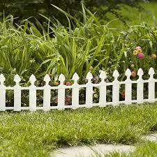 Garden Treasures Common 0 5 In X 22 In X 12 In Actual 0 47 In X 22 8 In X 12 7 In White P Garden Fence Panels White Garden Fence White Picket Fence Garden