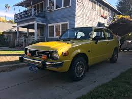 i see your low mileage 1975 honda civic