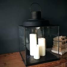 large lantern candle holders large