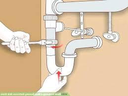 unclog a double kitchen sink