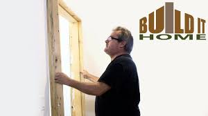 how to install a door frame you