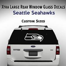 Seattle Seahawks Window Decal Graphic Sticker Car Truck Suv Van Choose Size Ebay