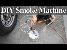 how to make a diy smoke machine