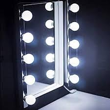 lights led hollywood kit bulbs wall