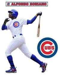 Alfonso Soriano Fathead Jr Mlb Cubs Baseball Wall Sticker Contemporary Wall Decals By Ami Ventures Inc