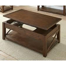 mocha brown lift top coffee table
