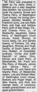 Obituary Charles E. Perry, Part 2 - Newspapers.com