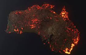 Is This a Photo of Australian Fires ...