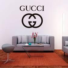 Gucci Logo Wall Decal Krafmatics