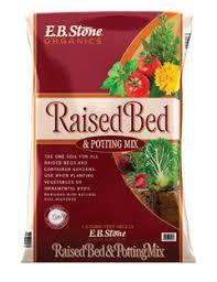 raised bed potting mix e b stone