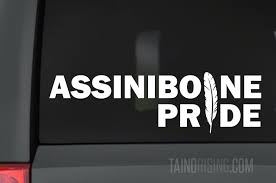 Assiniboine Pride Feather Native American Decal 10 5 X 3 By Taino Rising Taino Rising