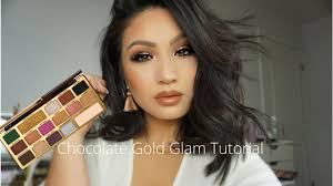 too faced chocolate gold tutorial you