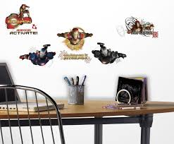 Wallhogs Marvel Comics Iron Man 3 Movie Wall Decal Wayfair
